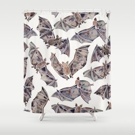Bat Collection Shower Curtain