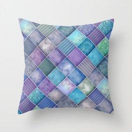 Diamond Shape Christmas Pattern 3 Throw Pillow