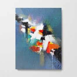 Escaping Reality - Abstract Pain Metal Print