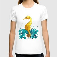sea horse T-shirts featuring Sea Horse by Lore Illustration