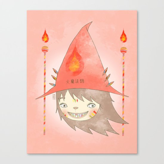 PAULLY POTTER - LICENSED WIZARD Canvas Print