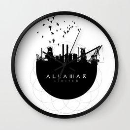 City Life | Allamar Limited Wall Clock