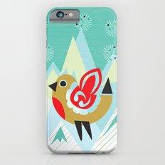 Festive Yule Snow Robin iPhone 6s Slim Case