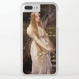 Jules Joseph Lefebvre - Ophelia Clear iPhone Case