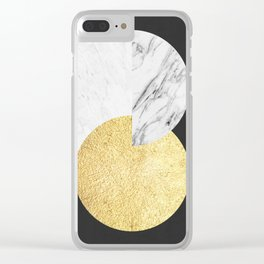 Golden figure XII Clear iPhone Case