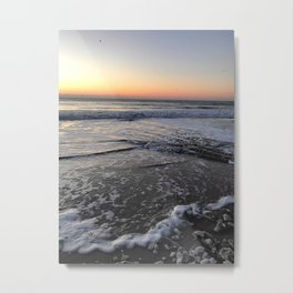 Gorgeous Sunset of Clearwater Beach, Florida Metal Print