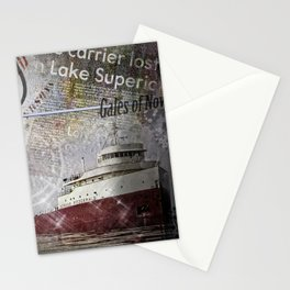 Edmund Fitzgerald Stationery Cards