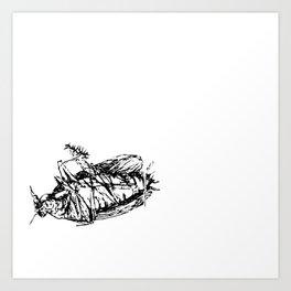 Cucaracha #11 Art Print