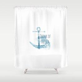 anchor Shower Curtain