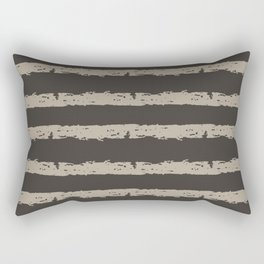 Texture Stripe Seaside Stone and Baja Dunes Rectangular Pillow