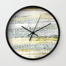 Lotion abstract watercolor Wall Clock