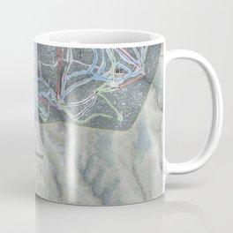 Steamboat Resort Trail Map Coffee Mug