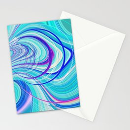 Re-Created  Hurricane 5 by Robert S. Lee Stationery Cards