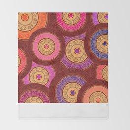 Ethnic Mandala Pattern Throw Blanket