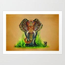 Grandeur Art Print