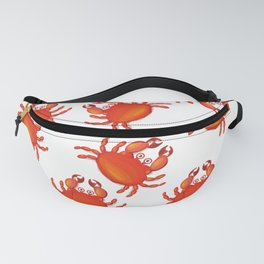 Christmas island red crabs. Fanny Pack
