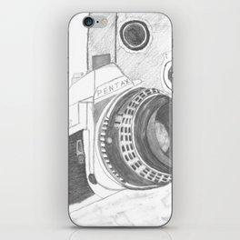 Pentax Illustrated iPhone Skin