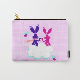 Love is.. / Couple of bunnies in love Carry-All Pouch