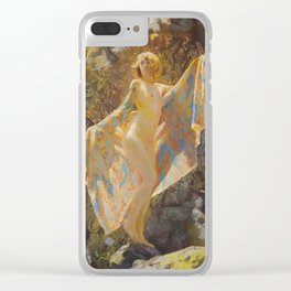 Maiden Of The Mist Clear iPhone Case