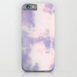 Pretty Lavender Clouds iPhone Case