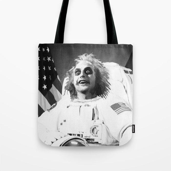 Astronaut Beetle juice Tote Bag