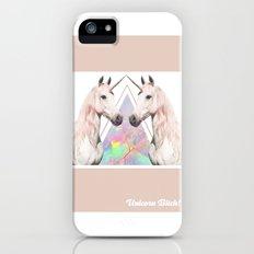 UNICORN BITCH! Slim Case iPhone (5, 5s)