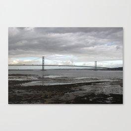 Forth Road Bridge - Fife, Scotland Canvas Print