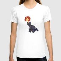 black widow T-shirts featuring Black Widow by Kelslk