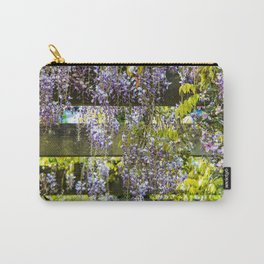Flowering Wisteria canopy Carry-All Pouch