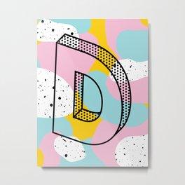 D. Metal Print