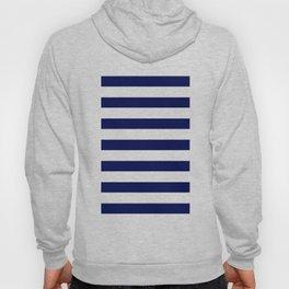navy stripes Hoody