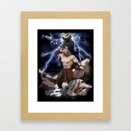 THOR Fantasy Art Print Framed Art Print