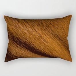 Safari Antilope Fur Rectangular Pillow