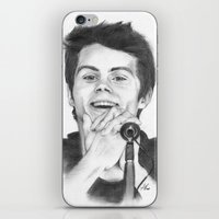stiles iPhone & iPod Skins featuring Stiles by LilKure