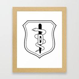 Medical Badge 1 Framed Art Print