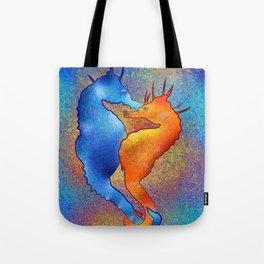 Tenimessa V1 - amazing seahorses Tote Bag