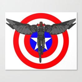 Falcon Volant Canvas Print