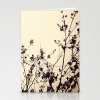 silhouette Stationery Cards featuring Silhouette by Skye Zambrana