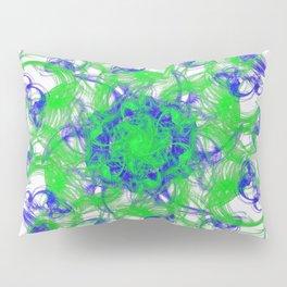 Symmetrical Swirl Pillow Sham