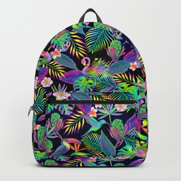 Abundant Neon Paradise Backpack