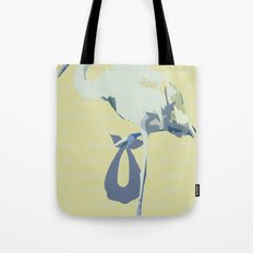 Baby Mine - cornflower blue/canary yellow Tote Bag