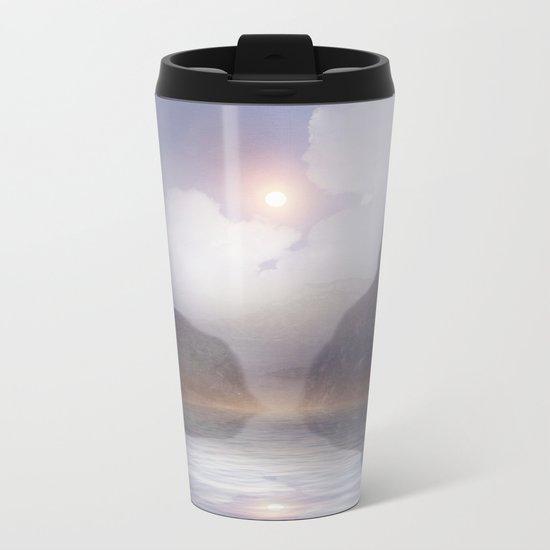Magic in the Clouds VI Metal Travel Mug