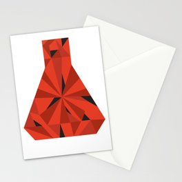 Science Ruby Stationery Cards