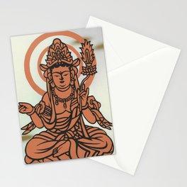 Sitting Buddha Stationery Cards
