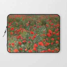 A stroll of poppies Laptop Sleeve