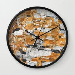 Italy: Sassi Texture - Matera  Wall Clock