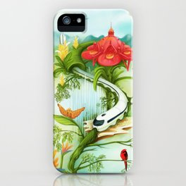 Medellin Flowers iPhone Case