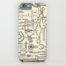fiendish incisions cream iPhone Case