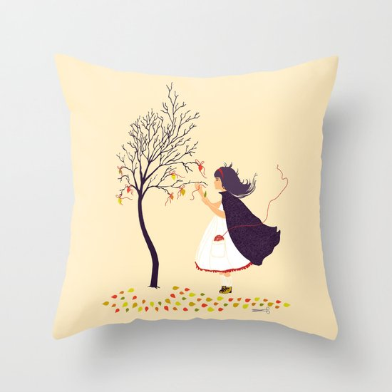 i'll help you Throw Pillow