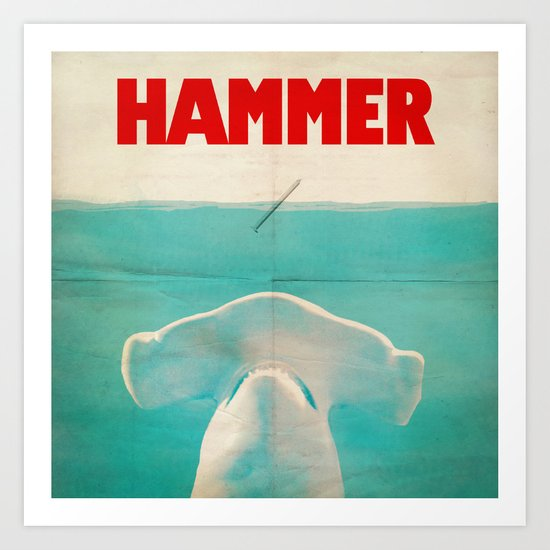 Hammer (square format) Art Print